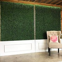 Artificial Hedge Plant, Faux Greenery Panel, UV Protected Faux Greenery Mats,Backyard and Home Dcor,20 x 20 Inch,1 Piece