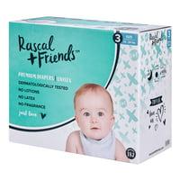 Rascal + Friends Premium Diaper (Choose Size & Count)
