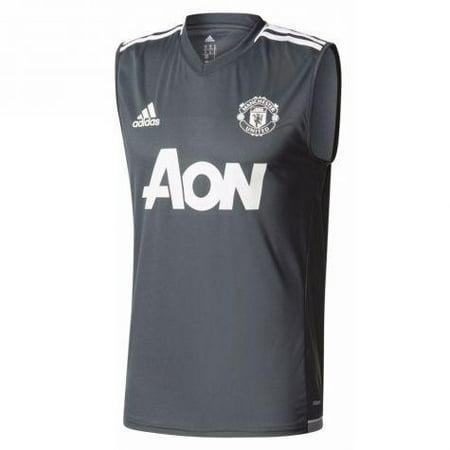 5c7e5c223 adidas Men s Manchester United Sleeveless Training Jersey - Walmart.com