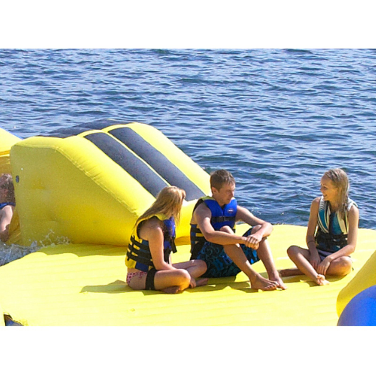 RAVE Sports Launch Pad Water Trampoline Attachment