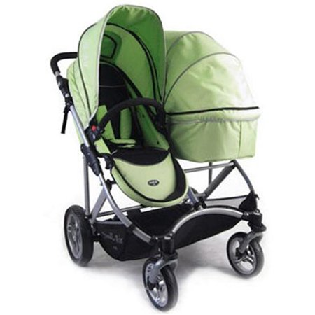 Strollair Sm54432g 2012 My Duo Twin Stroller Green