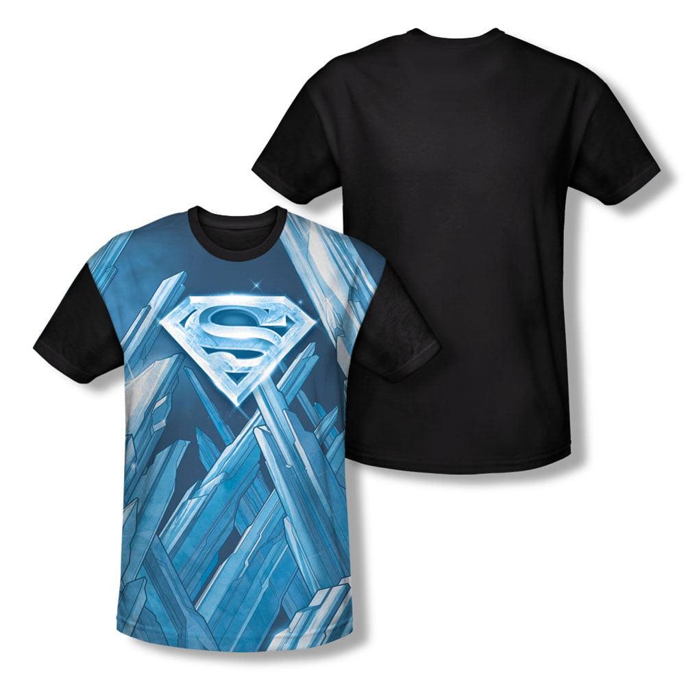 Superman Men's  Solitude Sublimation T-shirt White