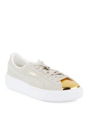 74ccf6f9aea Product Image puma women s suede platform gold fashion sneaker