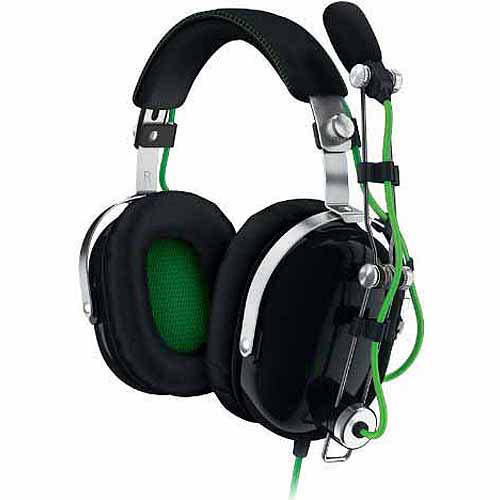 Razer BlackShark Over Ear Noise Isolating PC Gaming Headset Metal Construction and Compatible with Playstation... by Razer