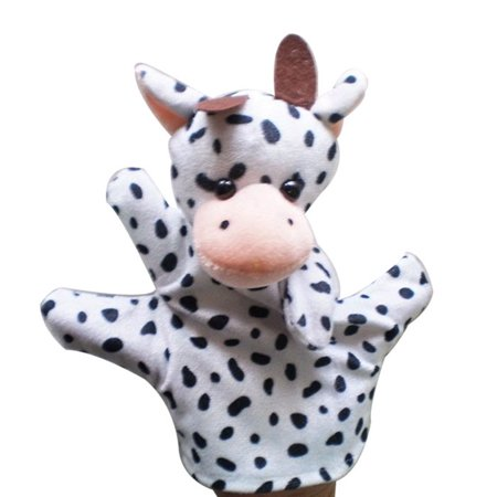 matoen Baby Child Zoo Farm Animal Hand Glove Puppet Finger Sack Plush Toy Finger Puppet Plush Toy