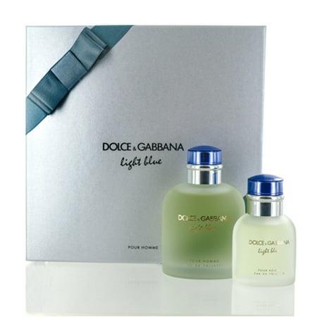 Light Blue Pour Homme D Amp G Set Value 134 M Walmart Com