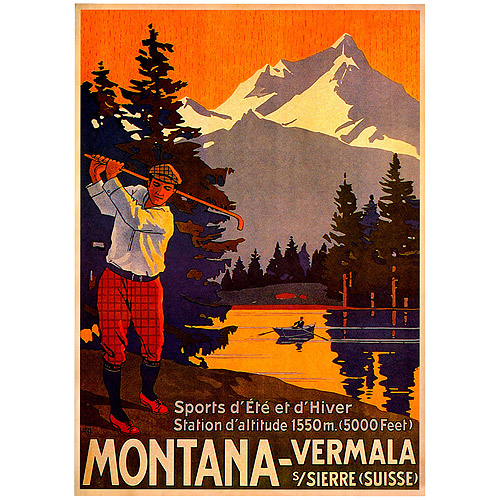 "Trademark Fine Art ""Montana"" Canvas Art"