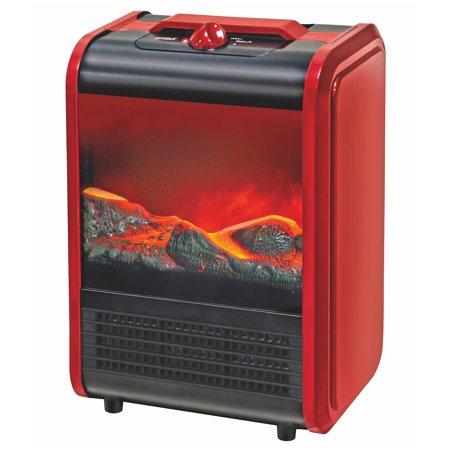 Optimus Electric Flame Effect Mini Fireplace