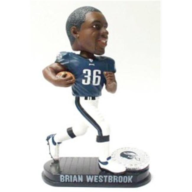 Philadelphia Eagles Brian Westbrook Forever Collectibles Black Base Bobble Head