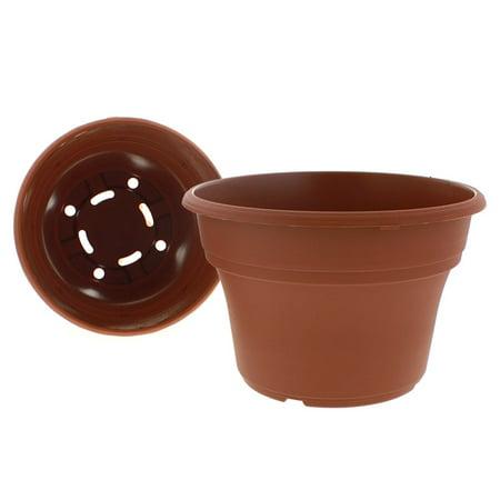 Akro Mils PA10000E22 Panterra Pot, Clay Color, 10-Inch