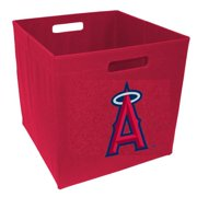 12-Inch Team Logo Storage Cube - Los Angeles Angel