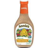 Annie's Lite Honey Mustard Vinaigrette Dressing, 16 fl oz