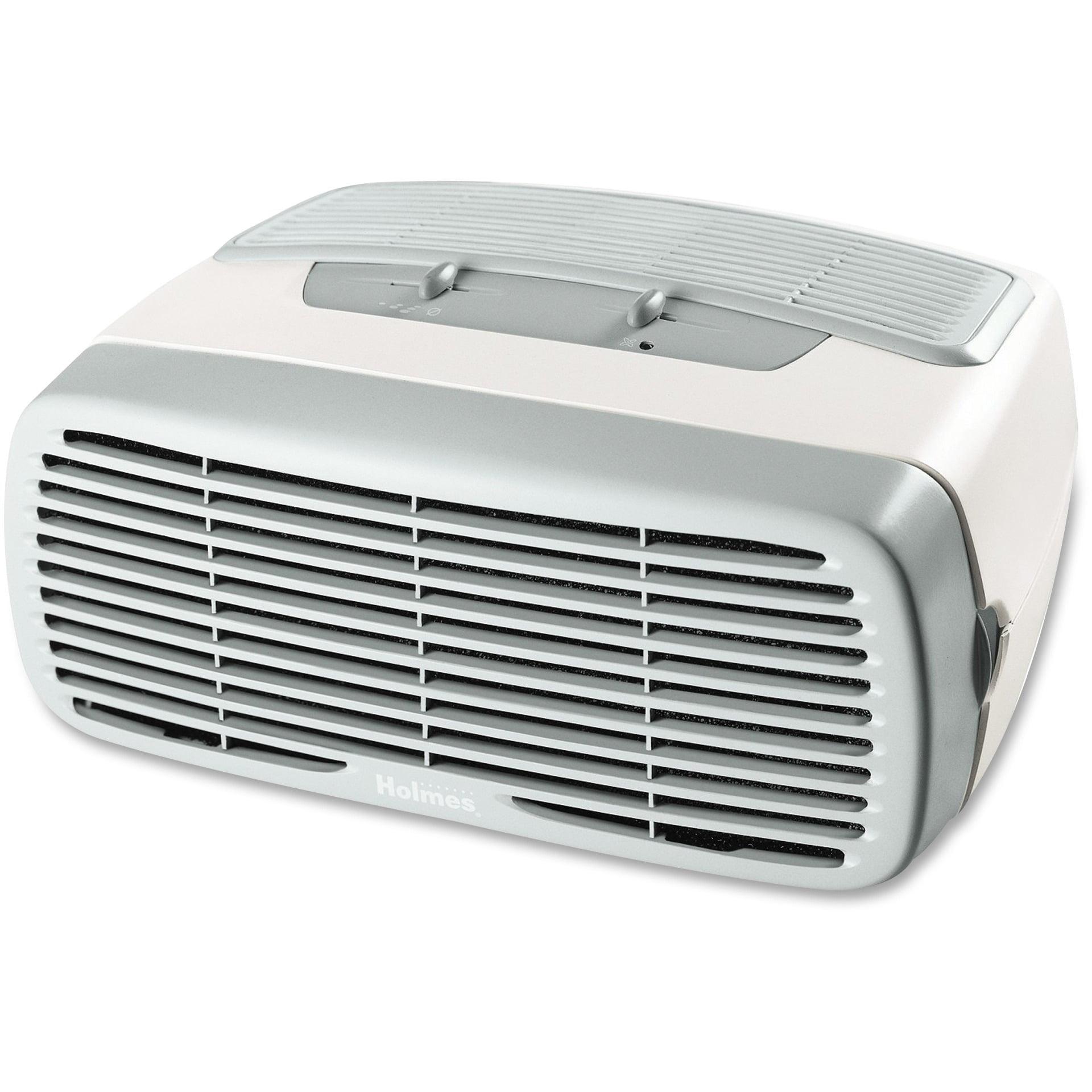 Holmes High-Efficiency HEPA-Type Desktop Air Purifier, Carbon Filter, 110 Square Foot Room Capacity, Three Speed (HAP242-UC)
