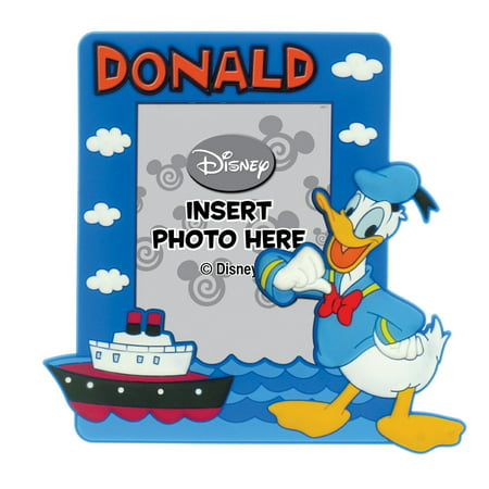 Thick Picture Frame Magnet (Magnet Photo Frame - Disney - Soft Touch Donald New Gifts Toys 24649)