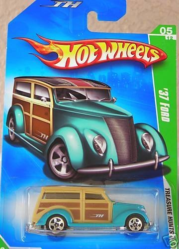 2009 Treasure Hunt '37 Ford 1:64 Scale By Hot Wheels by