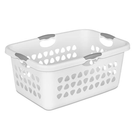 Sterilite 2 Bushel 71 L Ultra Laundry Basket White