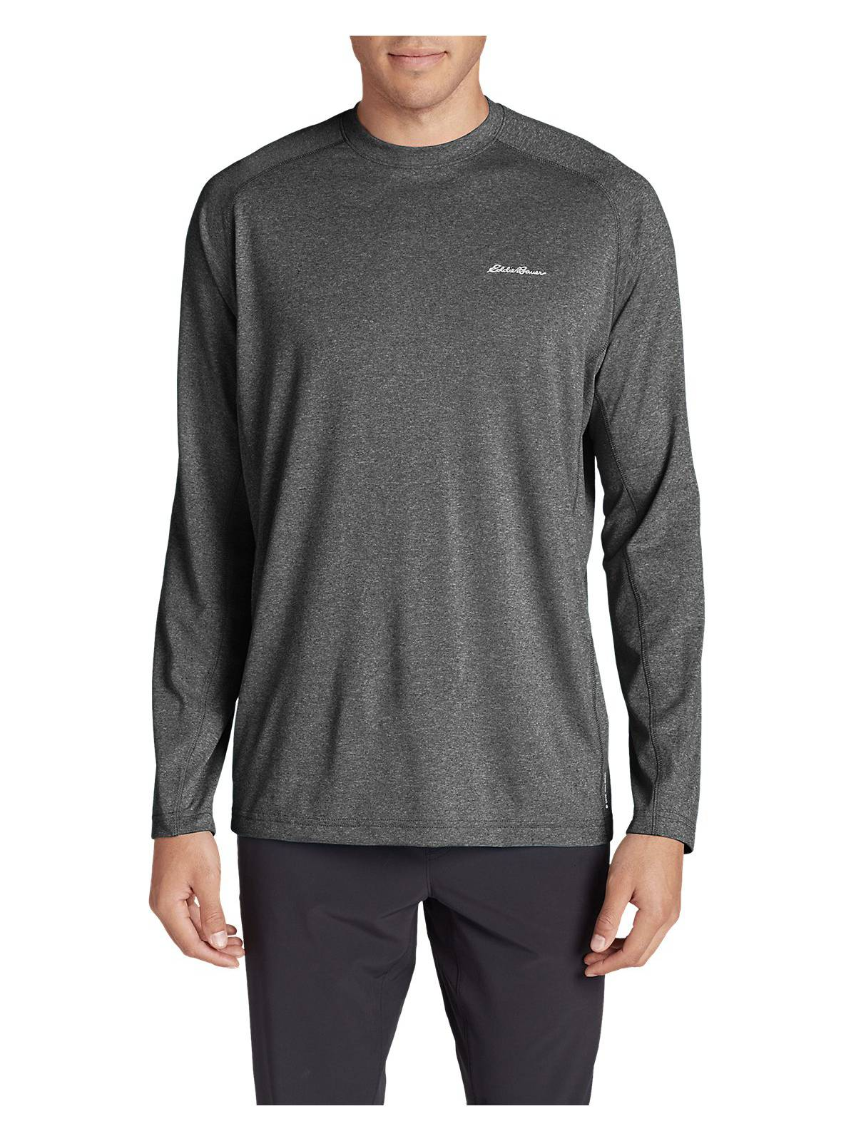 3357201a Eddie Bauer Men's Resolution Long-Sleeve T-Shirt - Walmart.com