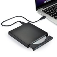 Today's notebooks and PCs don't always come with CD drives but with this USB 2.0 external CD DVD combo CD-RW drive and CD burner, you can watch movies and listen to music