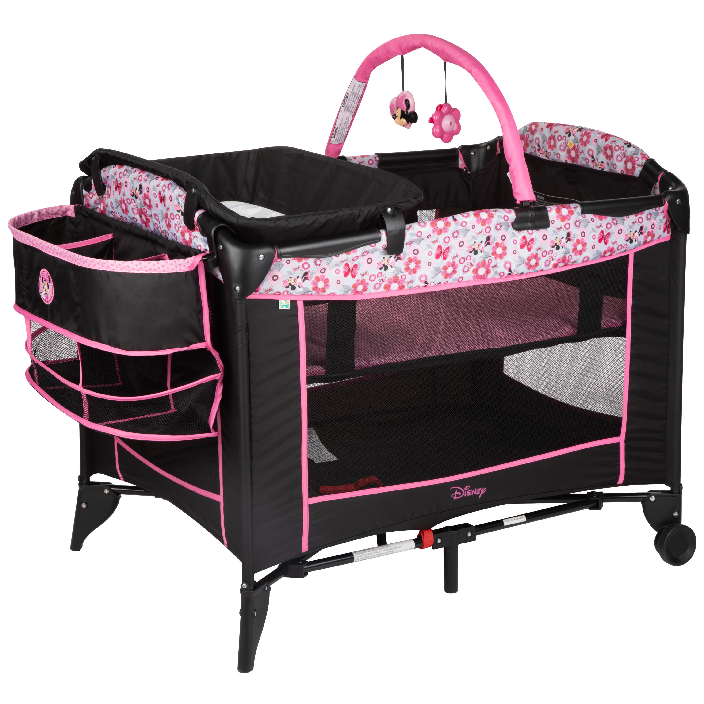 Disney Baby Sweet Wonder Baby Play Yard, Minnie Meadow