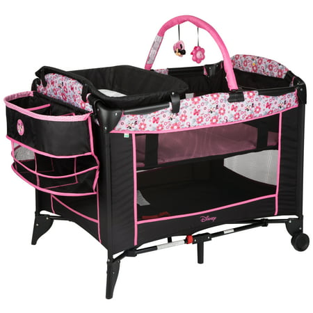 Disney Baby Sweet Wonder Baby Play Yard, Minnie Meadow