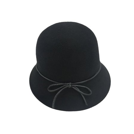 22bccbe6f2fcc Alpas Ladie s Hannah Navy 100% Wool Felt Cloche hat - image 1 ...