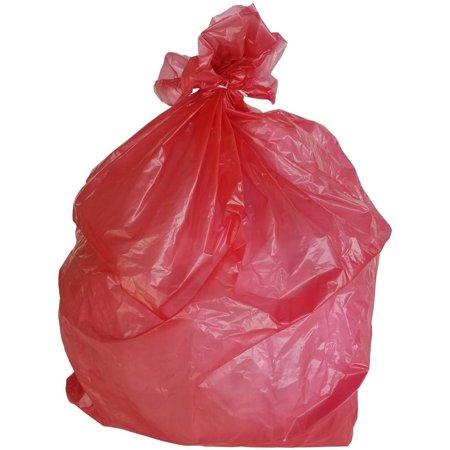 Plasticmill 33 Gallon Red 1 5 Mil 33x39 100 Bags Case