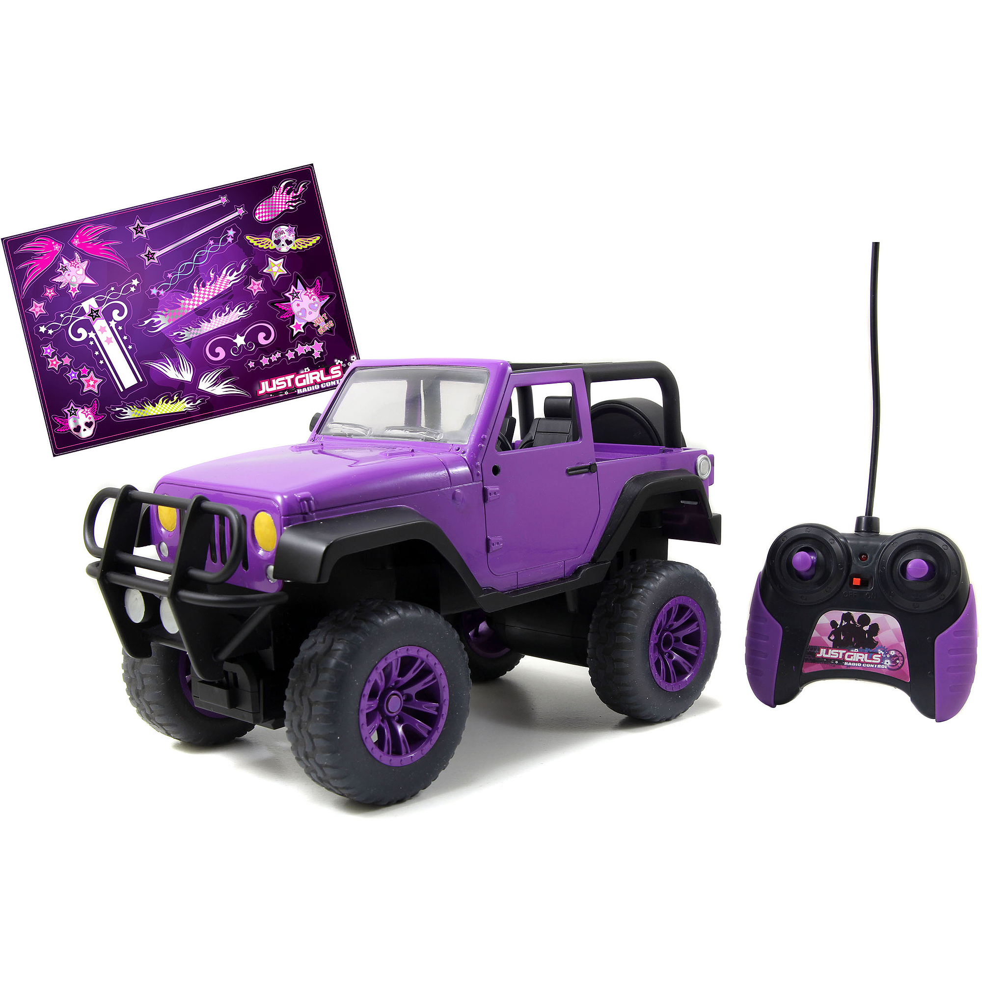 Girlmazing Remote Control Big Foot Jeep