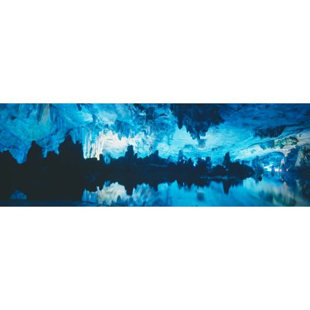 - Reed Flute Cave in Guilin Guangxi Province Peoples Republic of China Poster Print