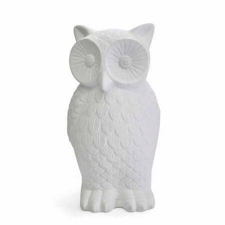 Better Homes And Gardens Owl Lamp, White