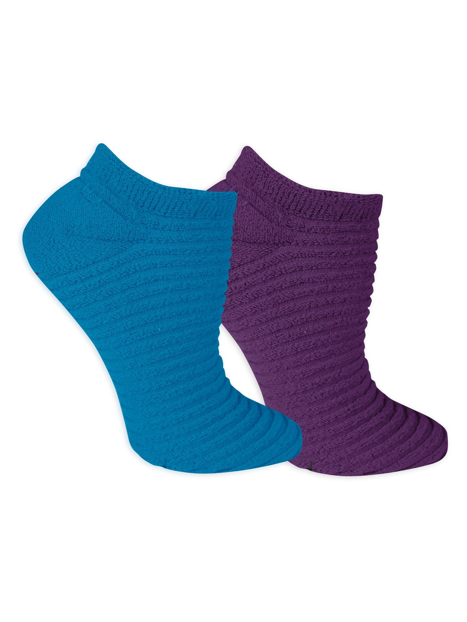 Women's Sleep Spa Low Cut Socks 2 Pair