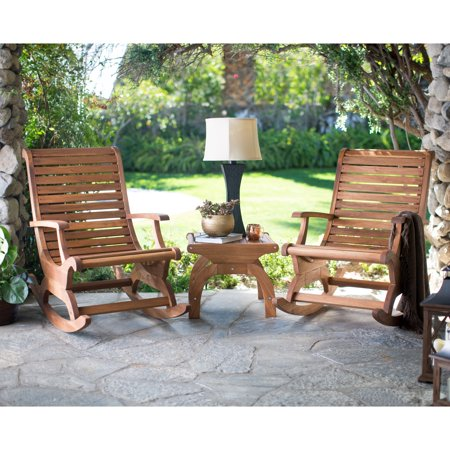 Sensational Belham Living Avondale Wood Rocking Chair Set Pdpeps Interior Chair Design Pdpepsorg