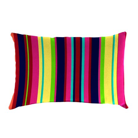 Weather Resistant Outdoor Lumbar Pillow 19 X 12 X 5 Walmart Com