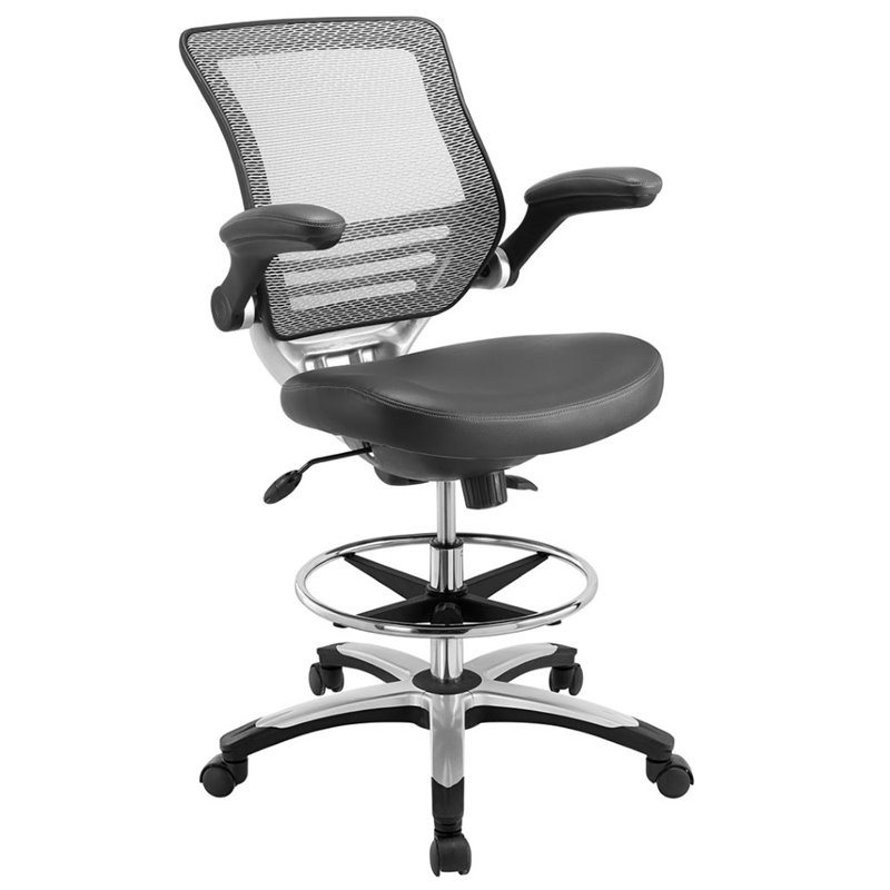 Drafting Chair in Gray