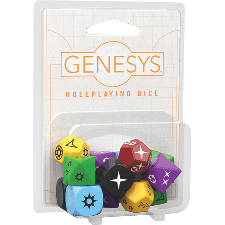 Genesys Roleplaying Dice Pack - Ppc Board