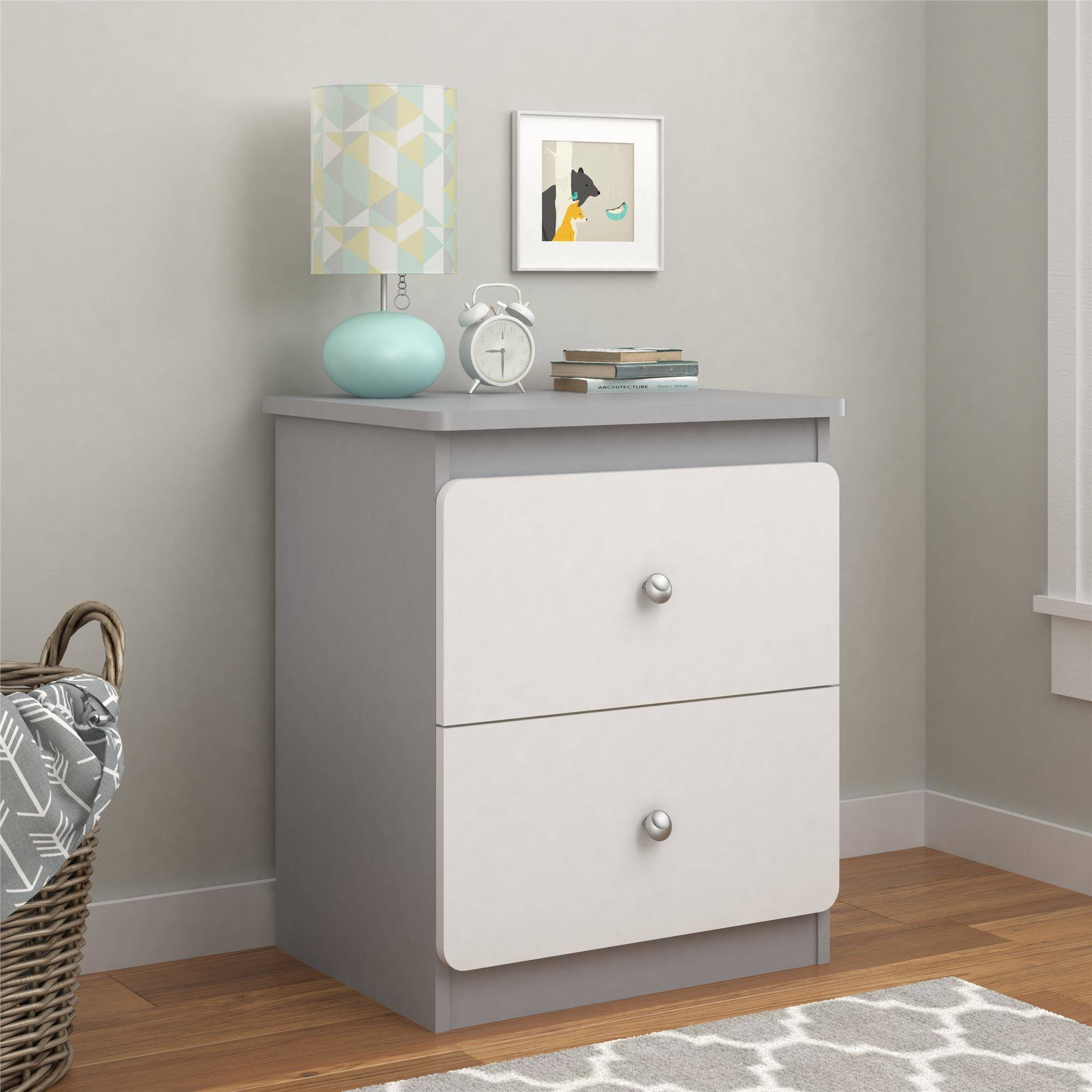 Cosco Willow Lake Nightstand, Multiple Colors