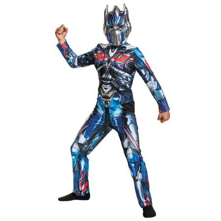 Transformers Optimus Prime Child Halloween Costume, One Size, L (10-12) (Optimus Prime Transformer Halloween Costume)