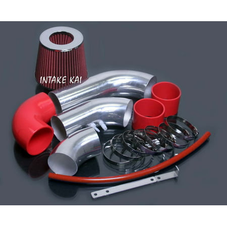 2002 2003 2004 2005 Chevy Chevrolet Cavalier / 2002-2005 Pontiac Sunfire 2.2 2.2L Ecotec Air Intake Kit Systems (RED)