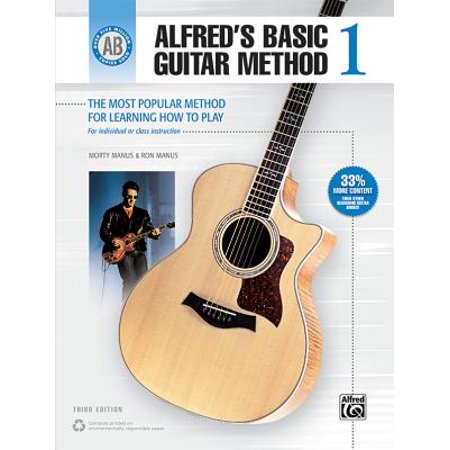 Alfred's Basic Guitar Method, Bk 1 : The Most Popular Method for Learning How to