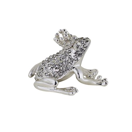 Frog Prince Trinket Box (Frog Jeweled Trinket Box)