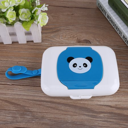 VGEBY Baby Infant Outdoor Travel Stroller Wet Wipes Box Tissue Case Dispenser , Travel wet wipes box, Wet tissue (Best Travel Wipes Case)