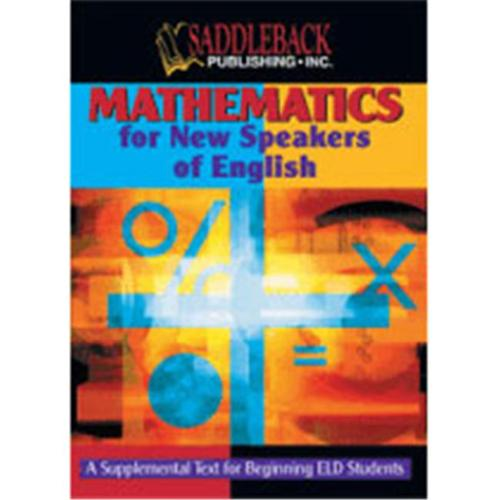 Saddleback Education 9781562546489 Mathematics for New Speakers of English - Class Set