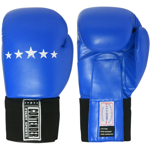 Contender Fight Sports Amateur Competition Gloves, 10 oz, Blue