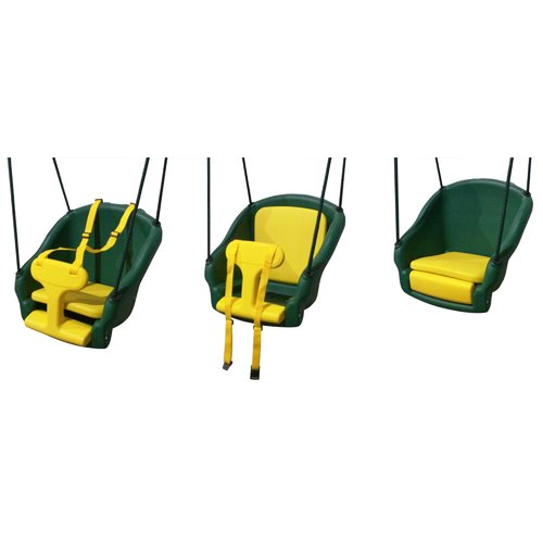 Backyard Discovery 2-in-1 Convertible Safe T-Swing