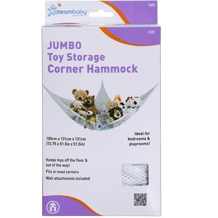 Dreambaby Jumbo Toy Storage Corner Hammock