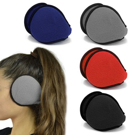 2 Pack Ear Muff Winter Comfortable Warmer Earmuffs Ear Warmers Collapsible Color