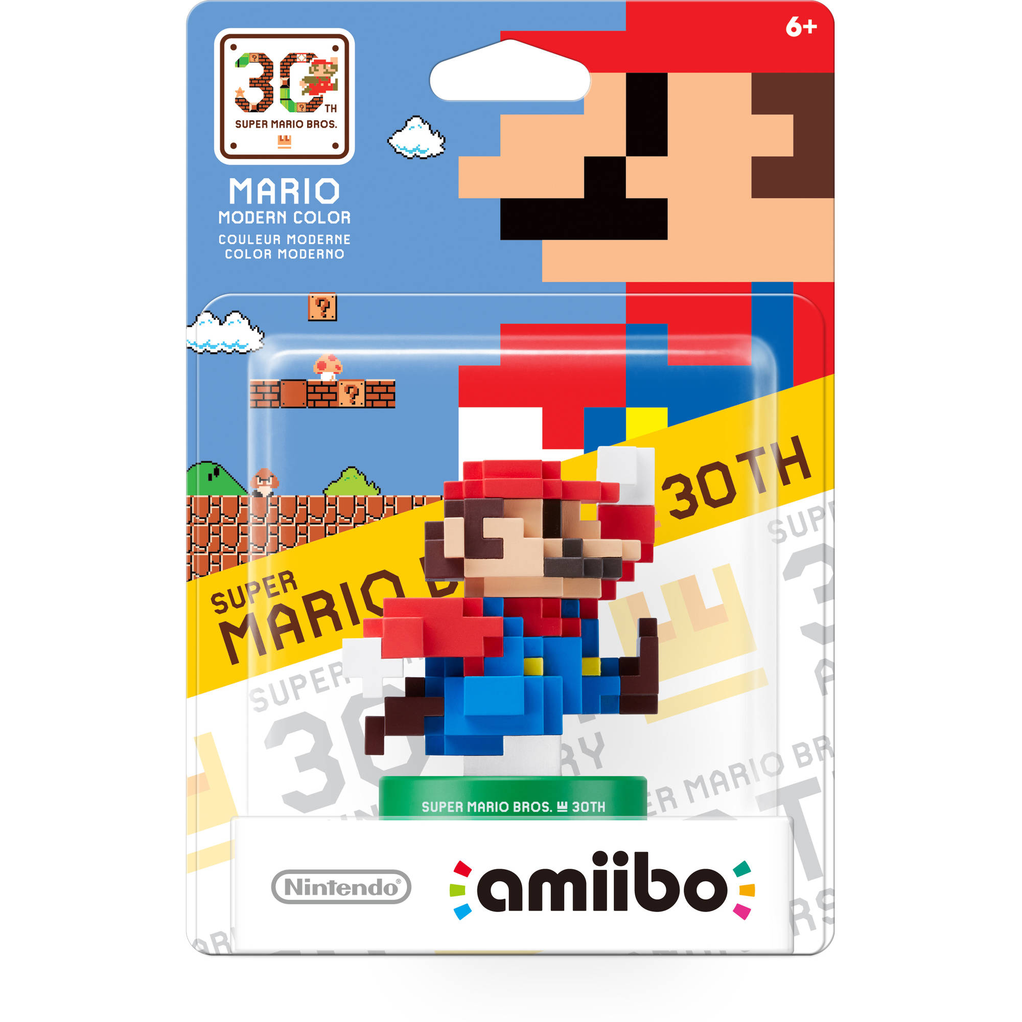Mario Modern Color 30th Anniversary Series amiibo (Universal)