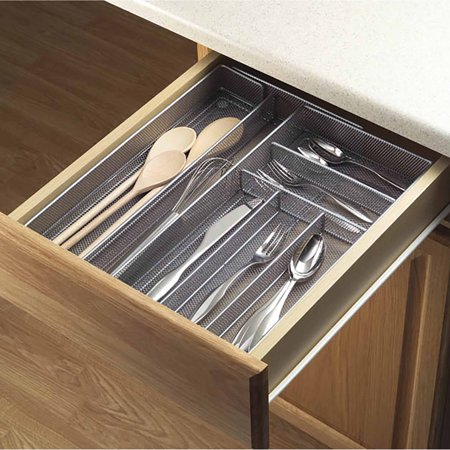 Drawer Plate (Copco Expandable Silver Plated Mesh Drawer Organizer)