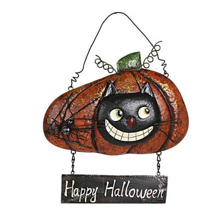 Attraction Design Home Halloween Mischief Pumpkin Sign Wall D - Halloween Mischief