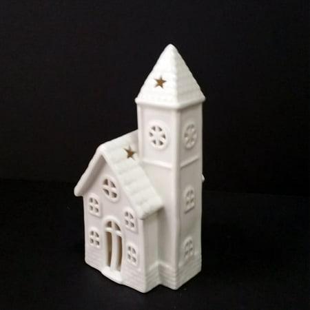 The Holiday Aisle Christmas LED Lighted Handmade Ceramic House
