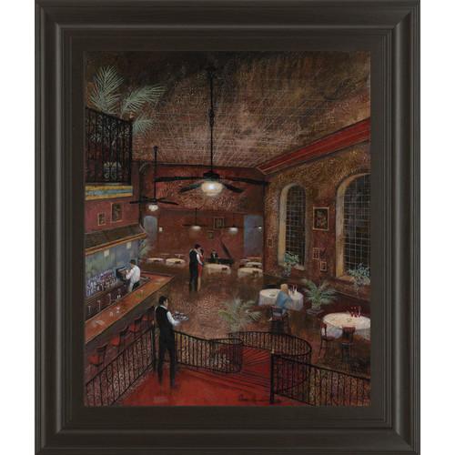 Classy Art Wholesalers Piano Man by Ruane Manning Framed Painting Print by Classy Art Wholesalers